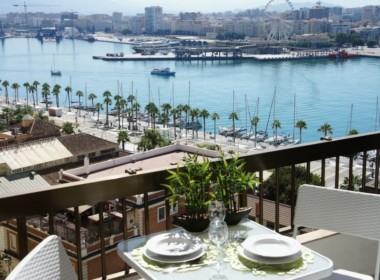 PENTHOUSE SEAVIEW. Malaga Center Flat