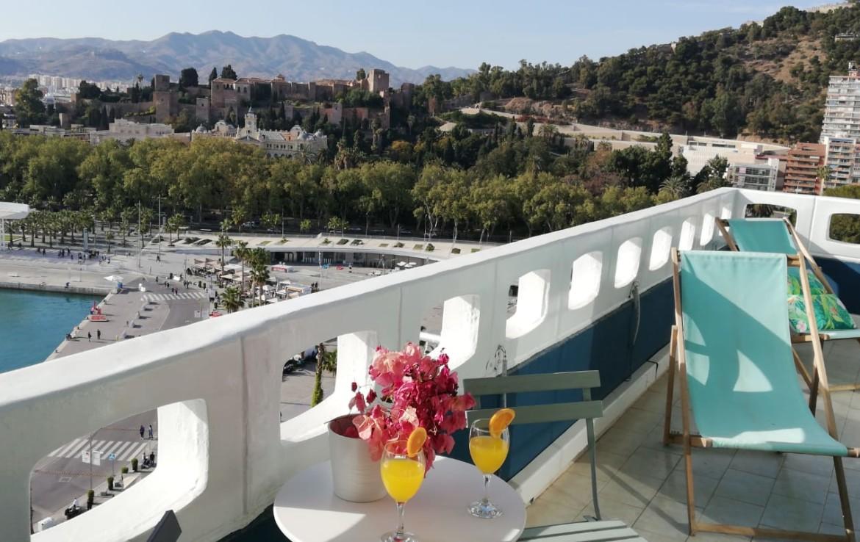 Malaga vistas al mar