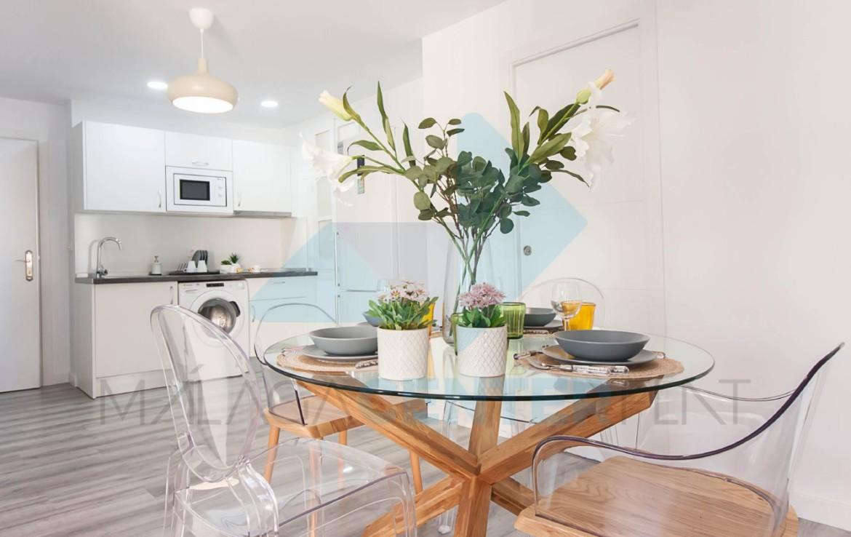 Malaga apartment towed