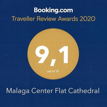 booking-average-score-malaga-center-flat-cathedral