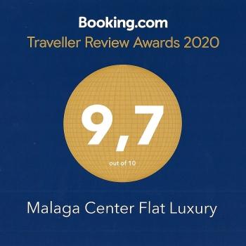booking-average-score-malaga-center-flat-luxury