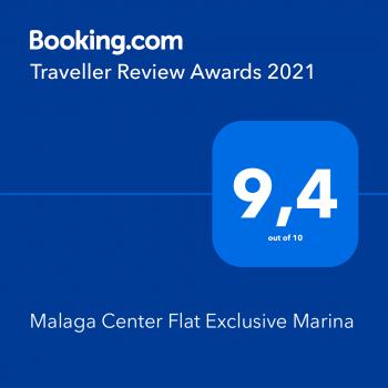 booking-average-score-malaga-center-flat-exclusive-marina